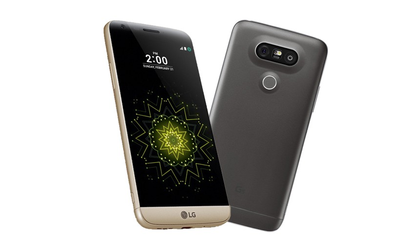 LG G5. …and friends